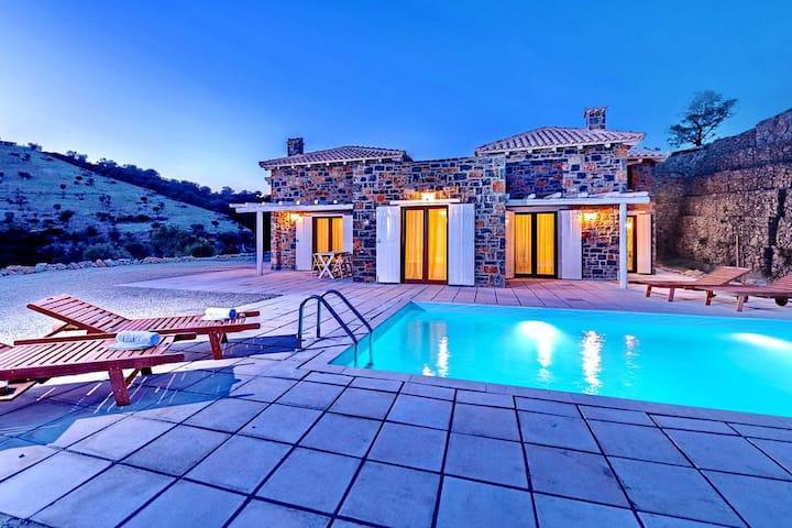 Agia Galini Sea View Two-bedroom Villa