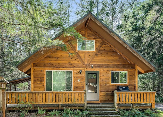 Tahoma Vista Chalet-2 kings/hot tub/WiFi/private!