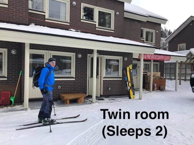 Alpine Backcountry Lodge Tomamu (Twin Room D)