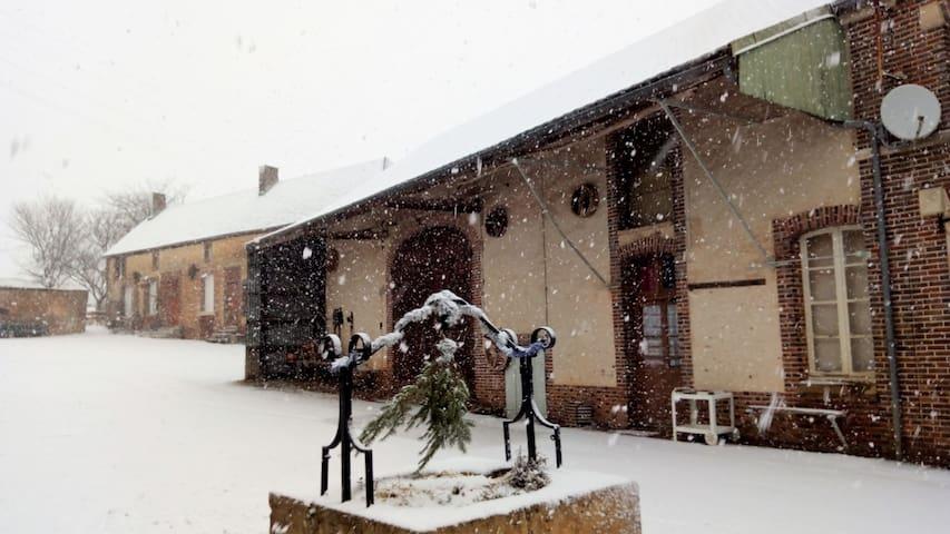 Gite des Delavoix - Ravissante ferme Bourguignonne