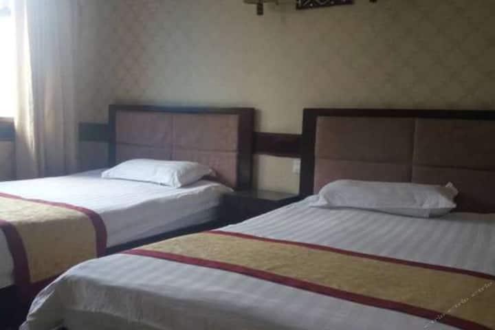 标准双人床大房间