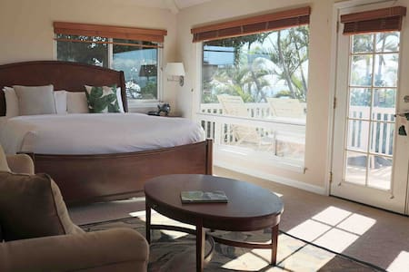 Ocean View Jacuzzi suite - 5min walk to Beach