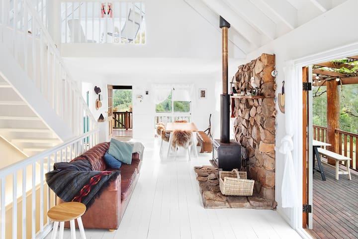 Mountain Top Farm house - Nimbin