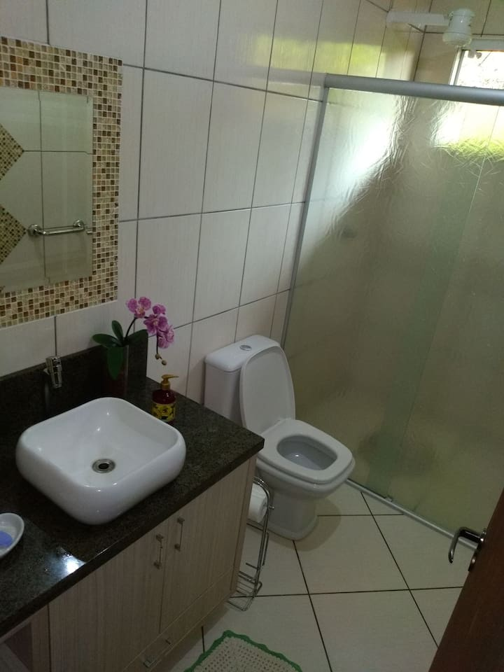 Banheiro da casa sede
