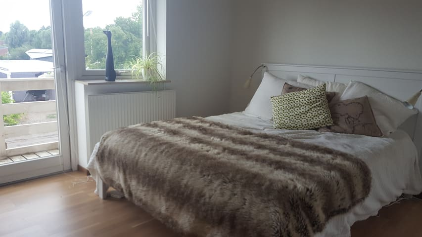 Private bedroom with private bath - Odense - Haus