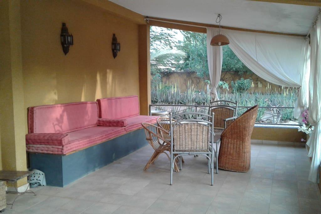 la terrazza esterna