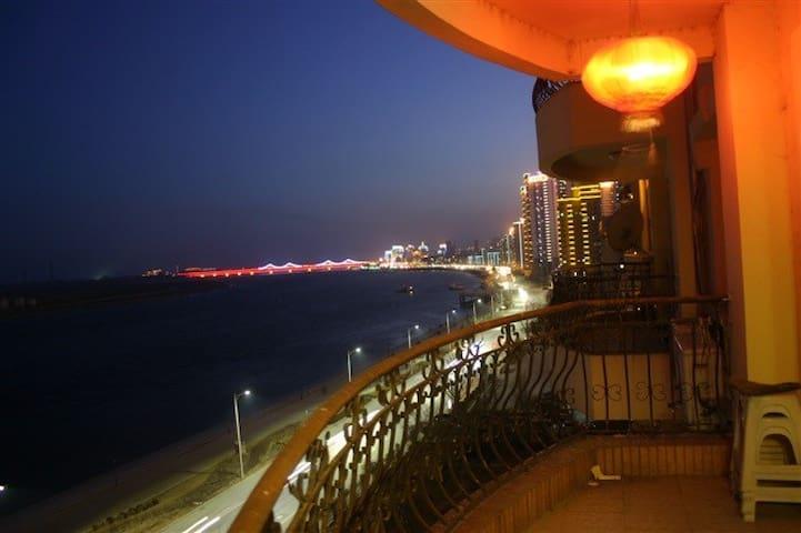 鸭绿江夜景