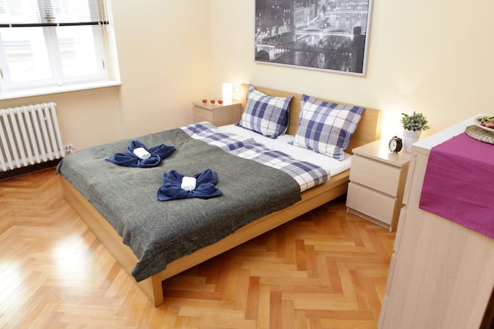 Deluxe Room, only 2 minutes from  National Theatre