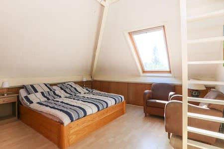 Standard family room in B&B (2+2) shared bathroom - Wageningen - 家庭式旅館