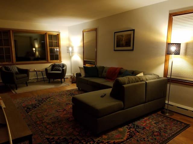 Burlington home; great location