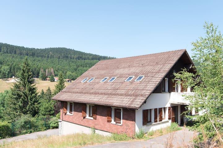 Grand chalet au coeur des Vosges