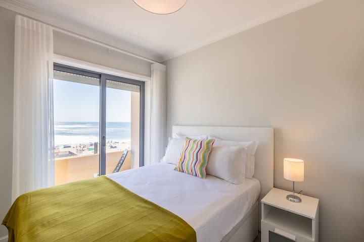 Bedroom 1 with Double-Bed and Balcony