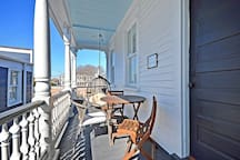 Private 2nd Floor Balcony