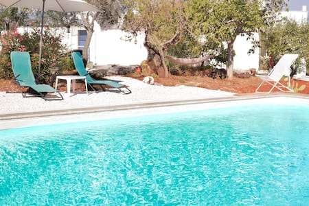 Trullo Moon with pool & wifi - เซกลิ เมซาปิกา