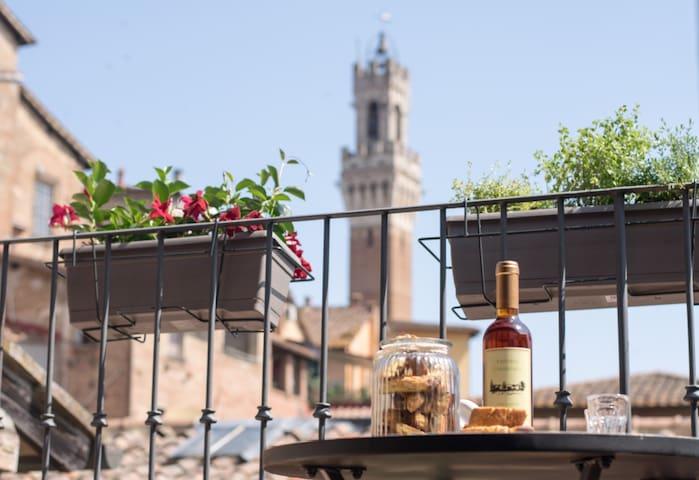 La Casa Nell'Onda, vivere Siena e la sua storia.
