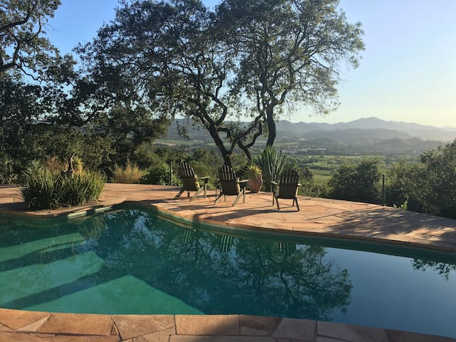 Spectacular Wine Country Views