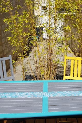 Victor-Hugo Studio climatisé  avec terrasse