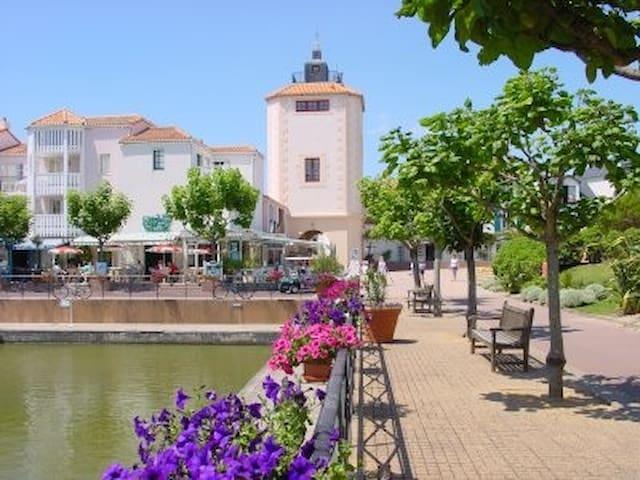 Appartement 5 personnes port-bourgenay Vendée - Talmont-Saint-Hilaire - อพาร์ทเมนท์