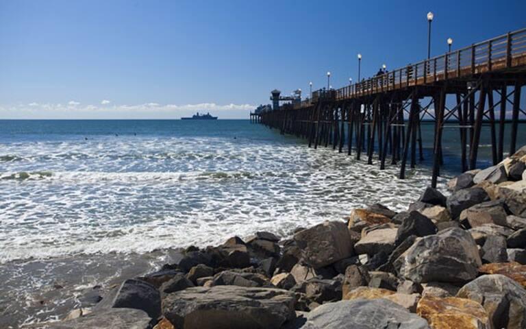 WorldMark resort oasis: walk to the beach and pier