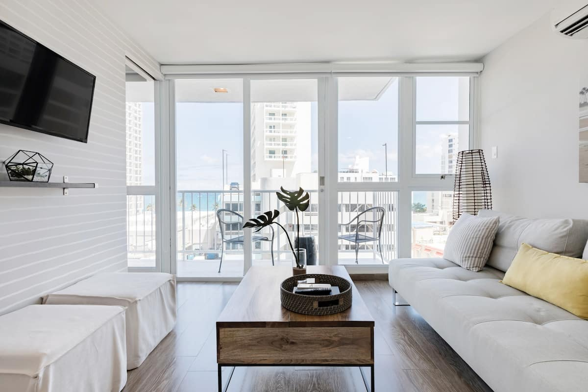 Breathe Salty Air on the Balcony at a Breezy Coastal Escape