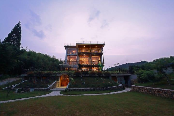 莫干山·鸟语花香,绿化达90%,200平公共露台,莫干山唯一一家天空之境网红打卡