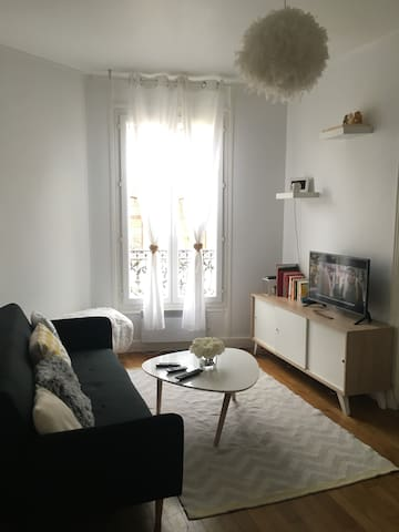 Cozy and spacious typical Parisian apartment - Pantin - Appartement