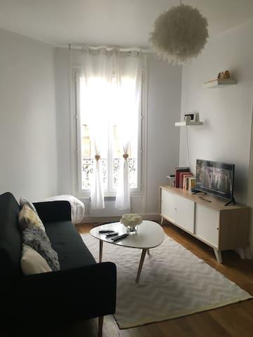 Cozy and spacious typical Parisian apartment - Pantin - Byt