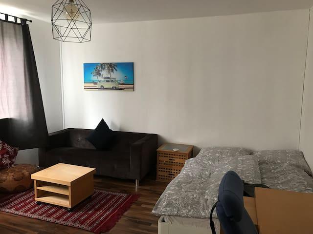Schöne ein-Zimmer-Wohnung zentral