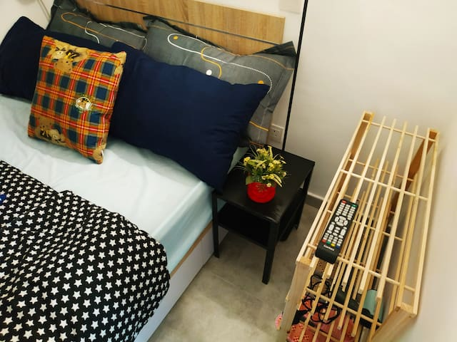 Clean & Cosy Studio@ Wan Chai MTR,Amazing Location