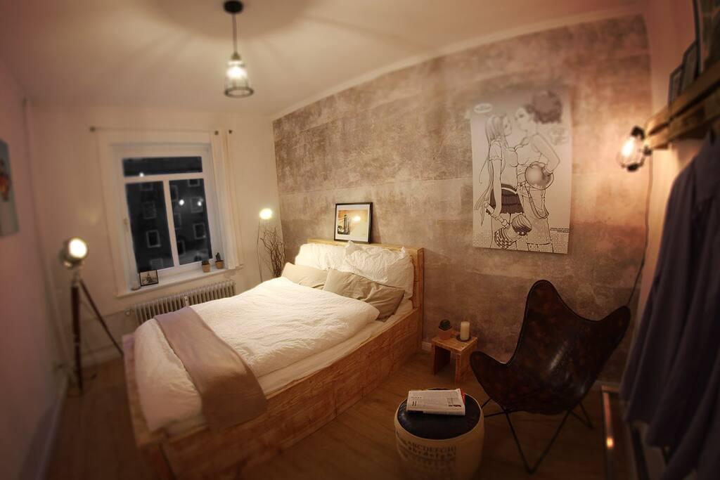 shabby chic room in neato apartment wohnungen zur miete in hamburg hamburg deutschland. Black Bedroom Furniture Sets. Home Design Ideas