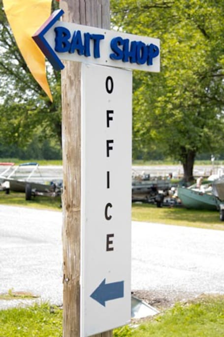 Onsite - Bait shop and office