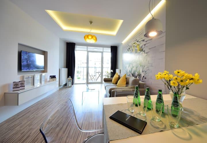 Apartament Homely Place Karmelovy - Centrum