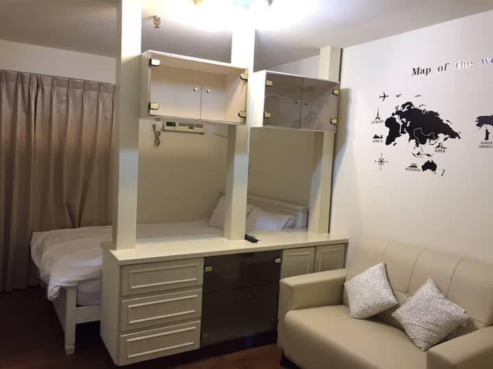 Taichung Newstation168-Room1