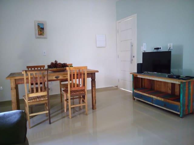 Apartamento 3 Novo em bairro nobre de Atibaia.