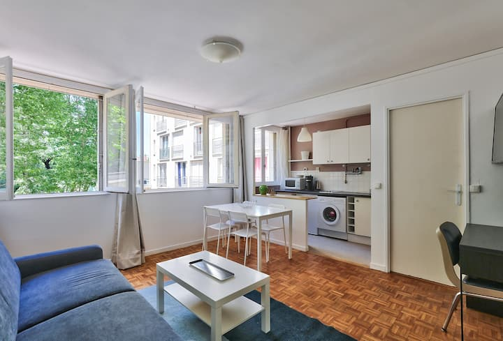Fully Furnished Studio In Central Paris For 2 !