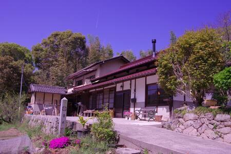 しまなみ海道「大三島」LIGHT HOUSE(洋室/共同キッチン)大山祇神社、スーパー、コンビニ近く