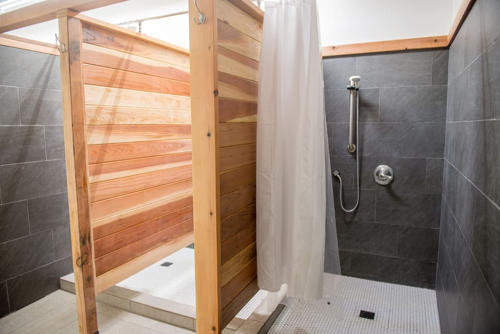 Remodeled showers