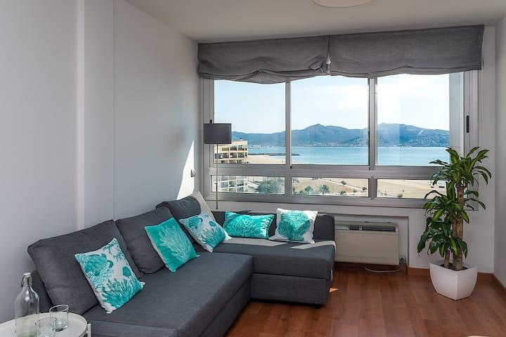 Primera línea Playa - apartamento de diseño