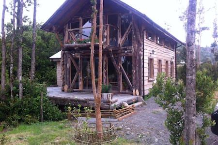 Mi casa del Lago Natri, Chiloe - Chonchi - Luontohotelli