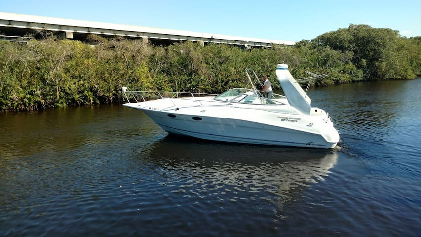 32ft Cruisers Yacht with cozy Cabin - Fort Myers - Barca