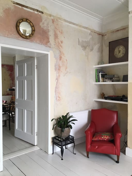 We embraced the fabric of the old Georgian buildings and left the walls bare and stripped