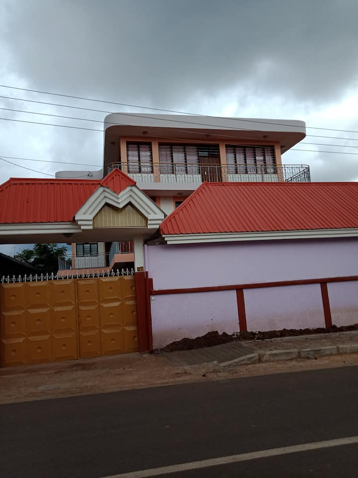 clouds view house