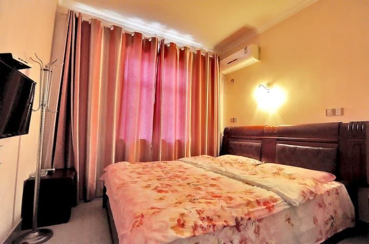 西塘景区阾近景区入口--甜蜜相约客房-【1.8米 温馨大床房 提供免费西塘汽车站接站服务哦】