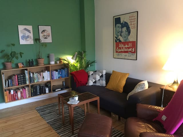 Cozy 2 bedroom apartment in Nørrebro (CPH)