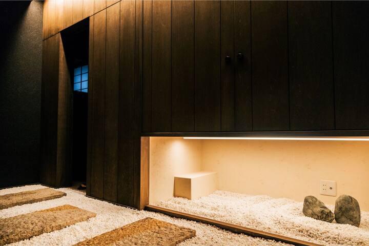 《千家》-華廊 新派日式公寓 獨棟 整套 臨近嵯峨野嵐山處風景區 紅葉 嵯峨野小火車