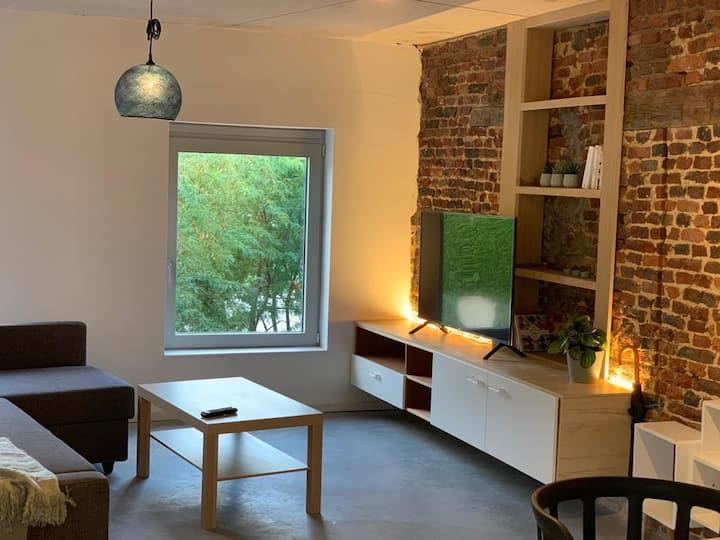 Gezellig appartement in het centrum van Luik - 2de