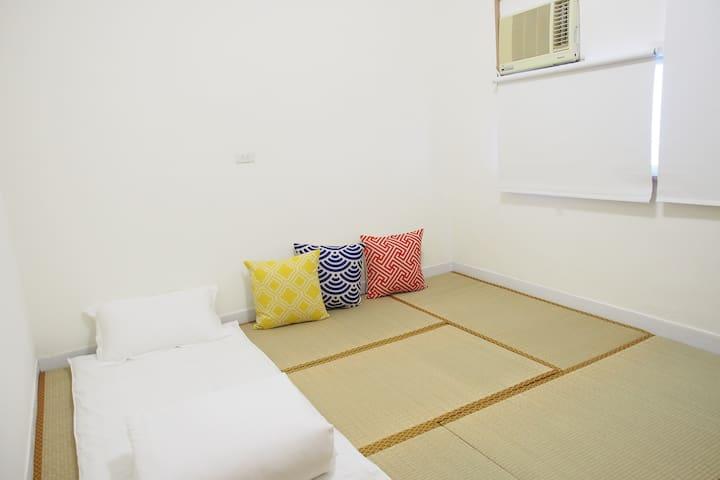 金崙 47-7 日式榻榻米(贈海灘觀日出) 1-2個單人床鋪