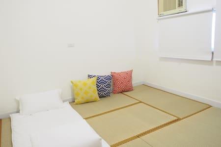 金崙 47-7 日式榻榻米(1-2個單人床鋪或1個雙人床鋪)