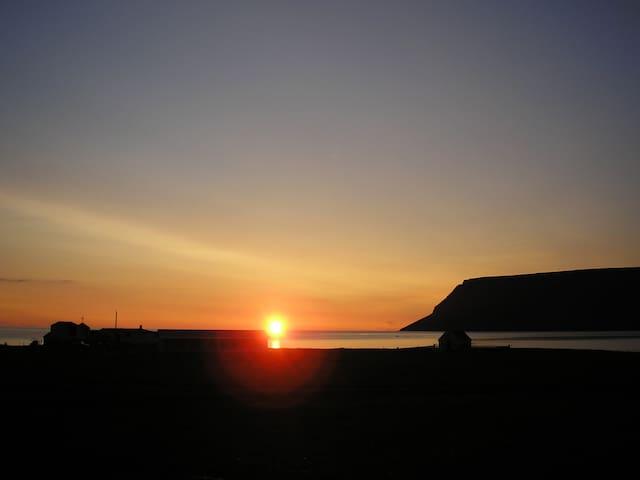 Sæból remote farm, Westfjords