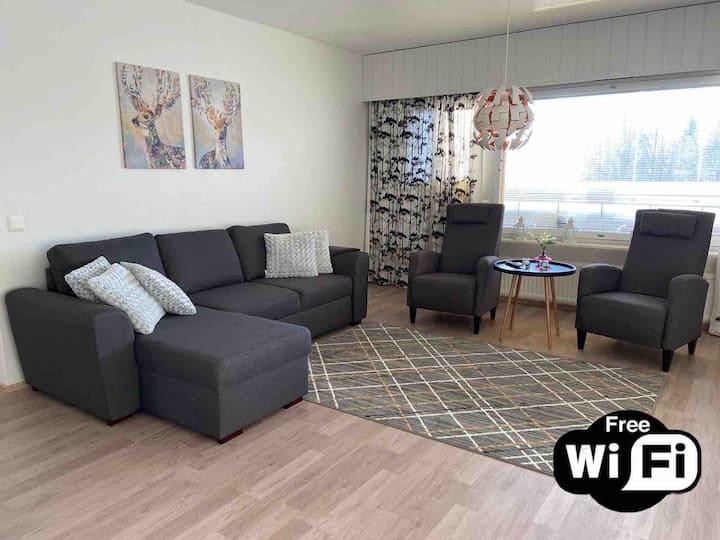 Tinttis apartment (Free WiFi) kaksio keskustassa